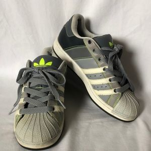 Adidas Supermod ST gray white sneakers shoes Sz 6
